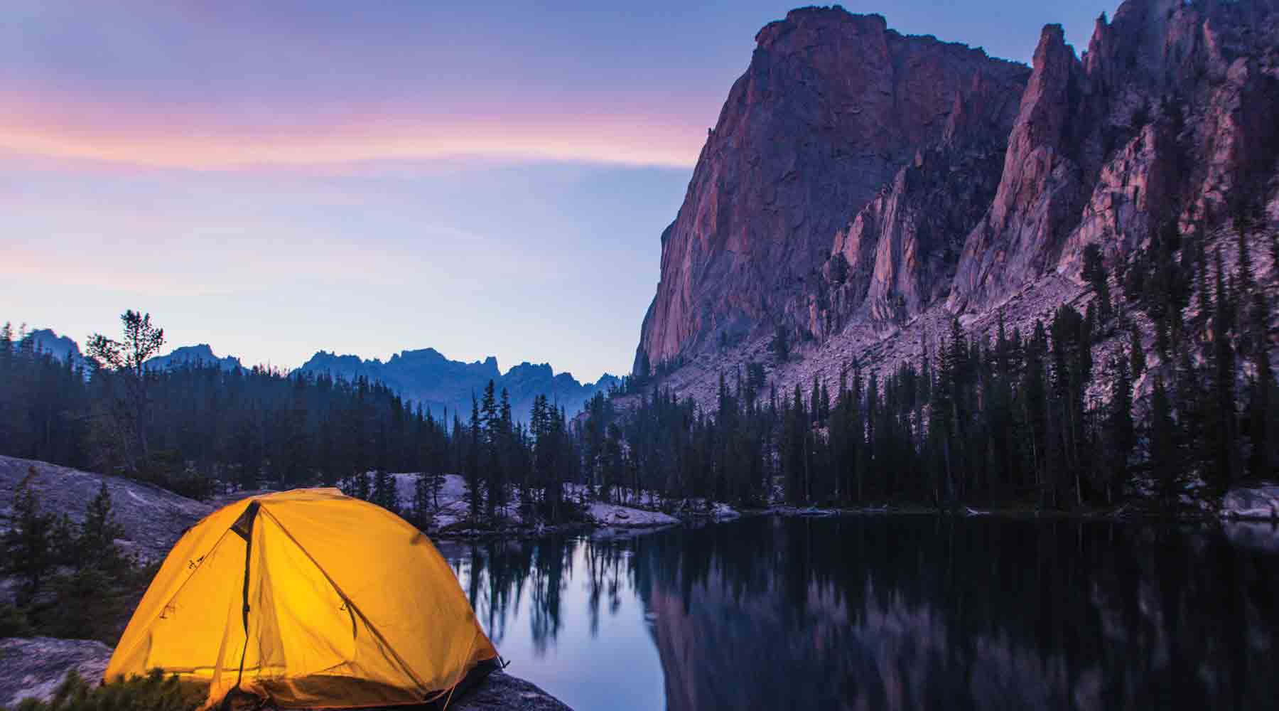 Camping, Elephants Perch, Stanley. Photo Credit: Idaho Tourism