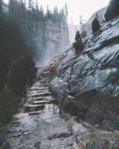 Vernal Fall via the Mist Trail
