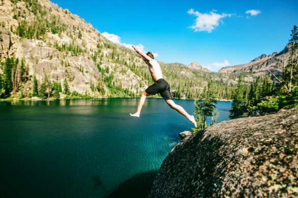 Swimming, Elephant's Perch, Near Stanley, Idaho. Photo Credit: Idaho Tourism