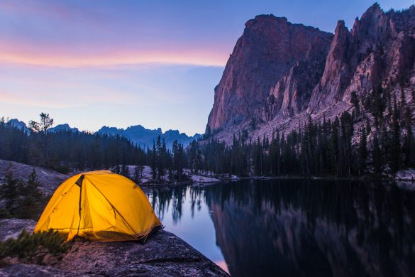 Camping, Elephant's Perch, Near Stanley, Idaho. Photo Credit: Idaho Tourism