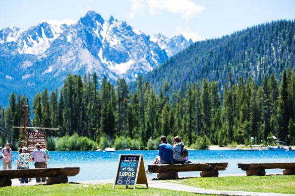 Redfish Lake, Stanley, Idaho. Photo Credit: Idaho Tourism