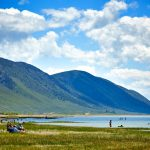 Swimming, Bear Lake State Park, St. Charles, Idaho. Photo Credit: Idaho Tourism
