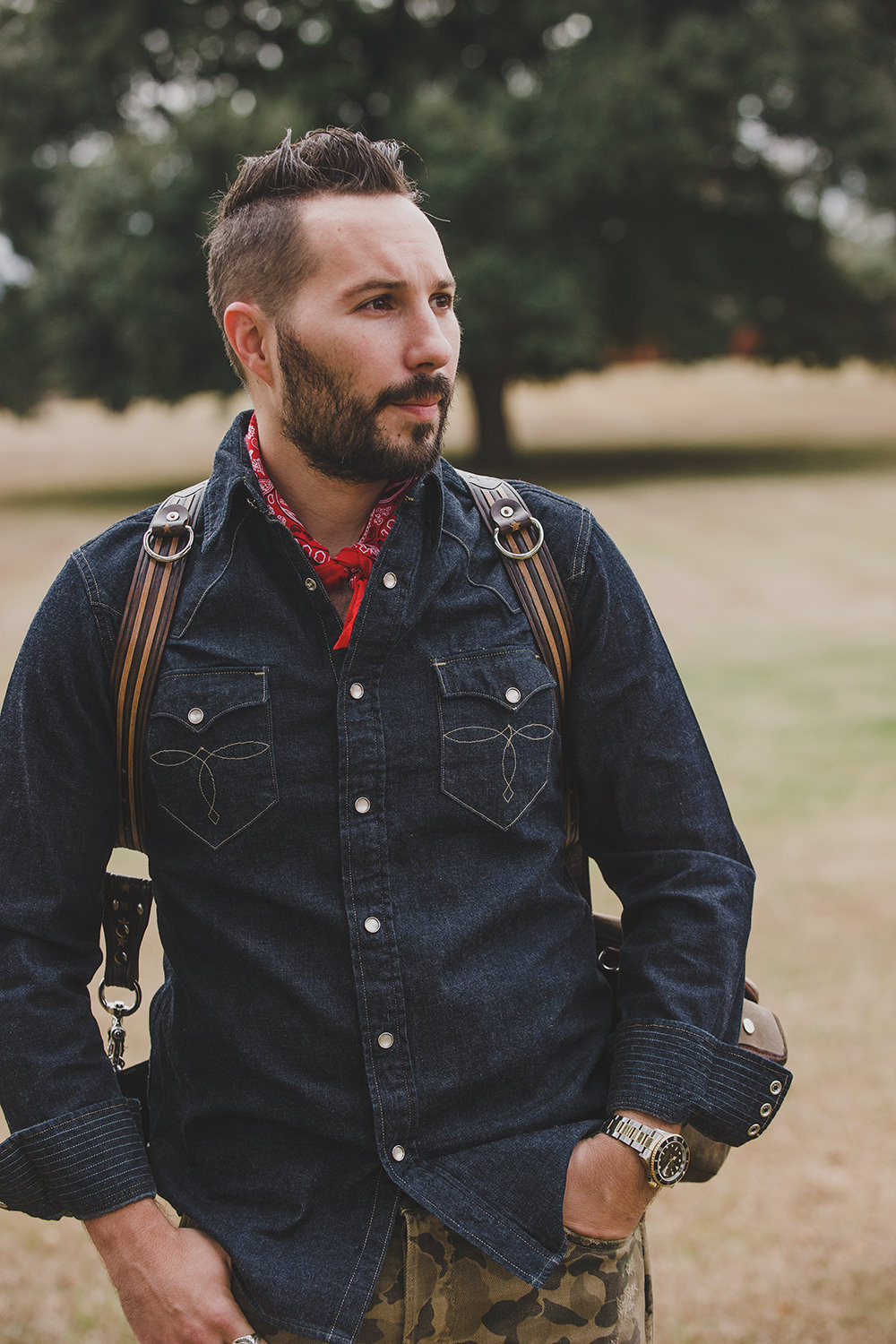 Matthew Swaggart founder of @holdfastgear | It looks right and it makes sense.