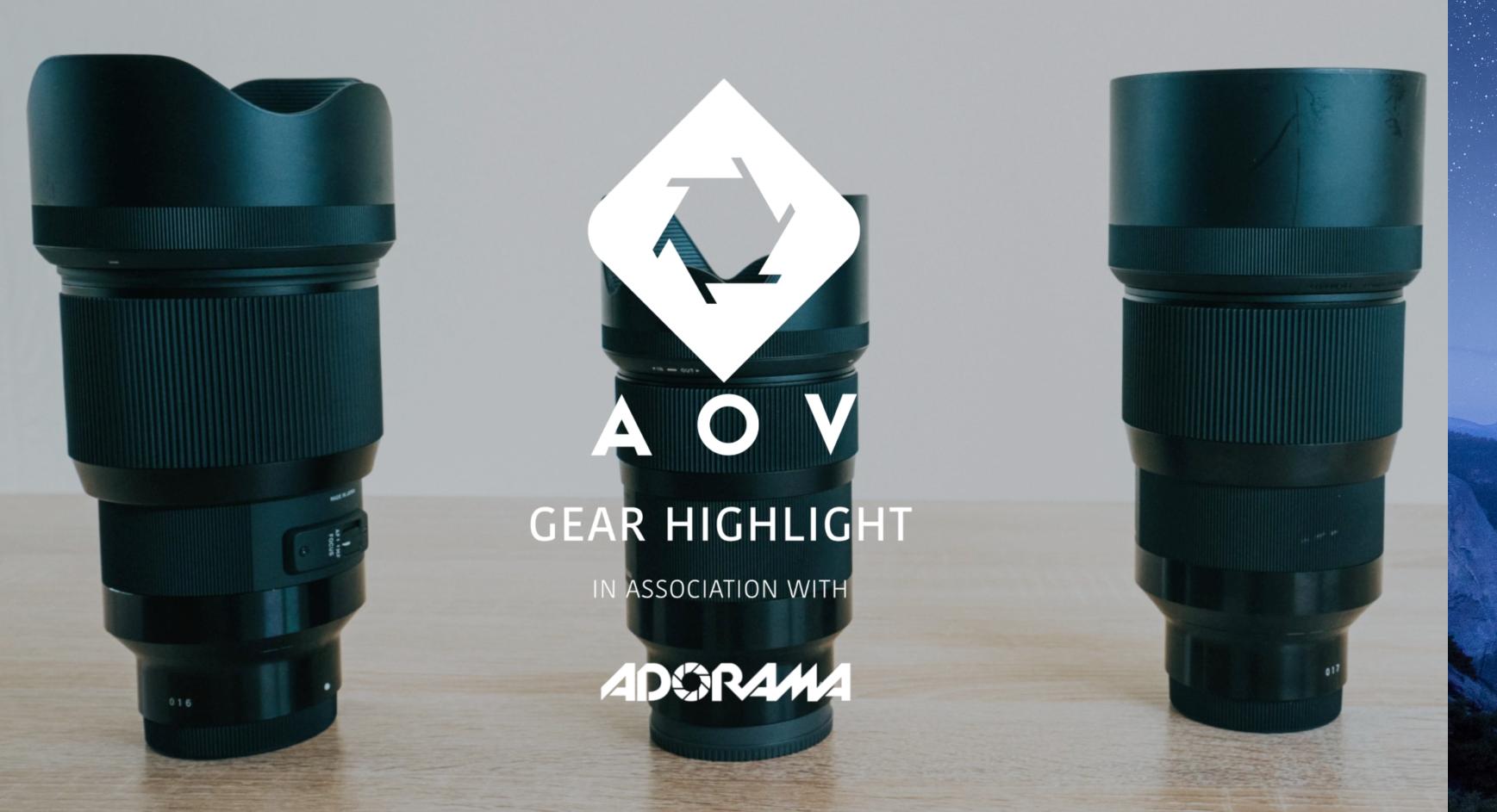 Sigma Art 35mm 1.4 | AOV Gear Highlights